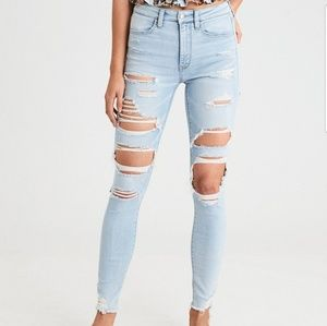 2 for $10 SALE American Eagle Shattered Jeans